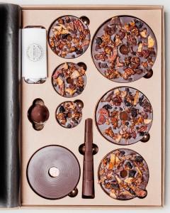 Chocolat Alain Ducasse - Sapin de Noel à monter @Pierre Monetta