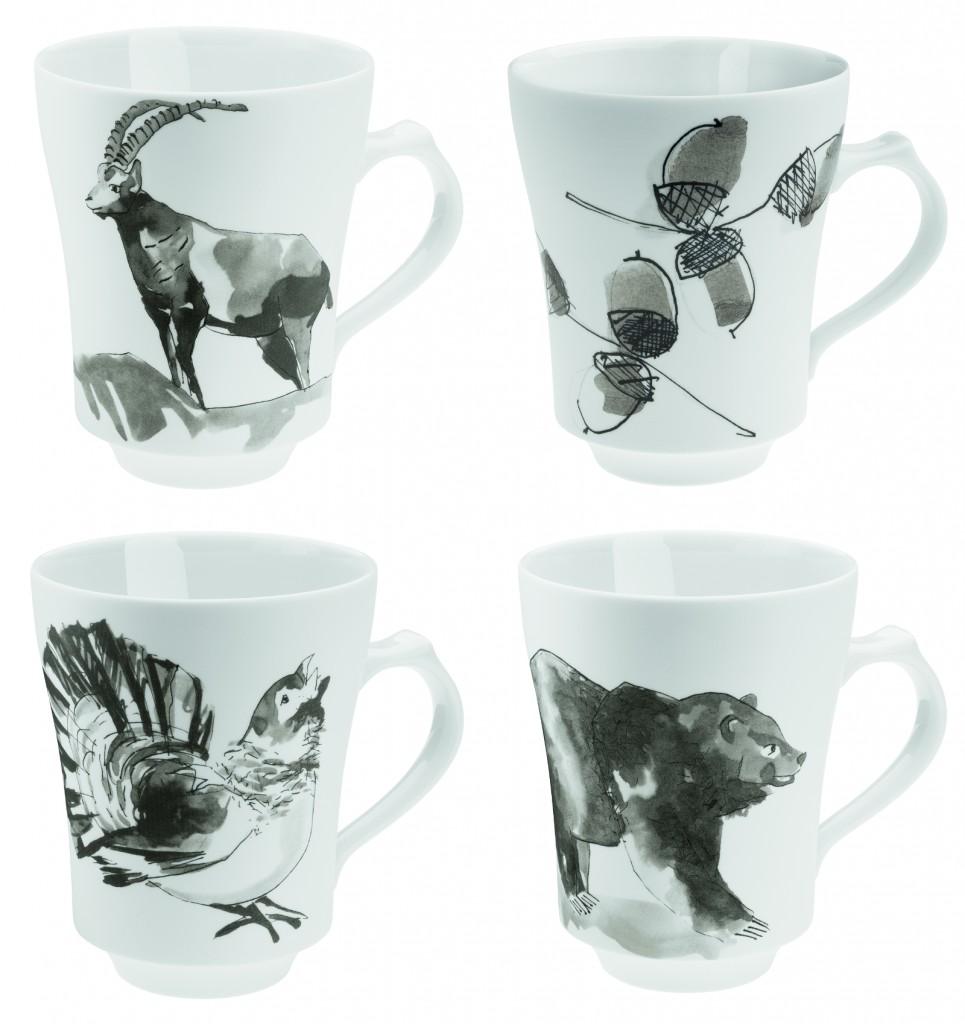 PIQUEUR mug x4