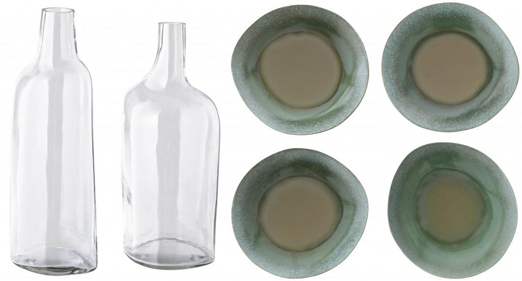 bouteille et assiettesIKEA PE575674
