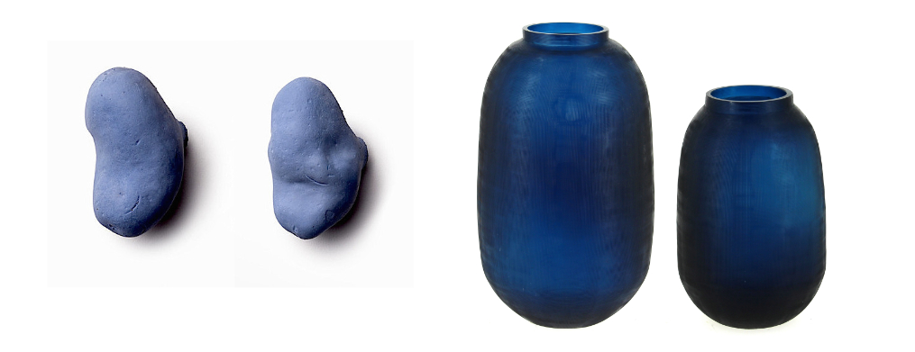 tubercules et vases BLEU 2