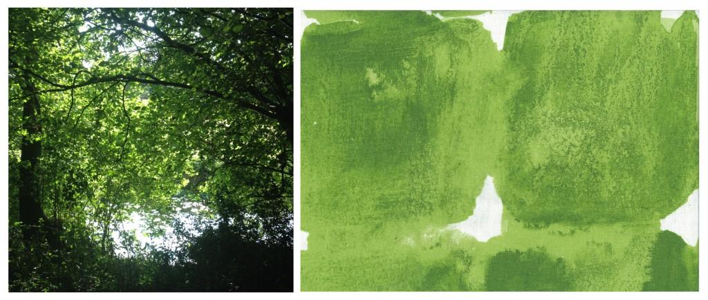 1 paysage et textile vert