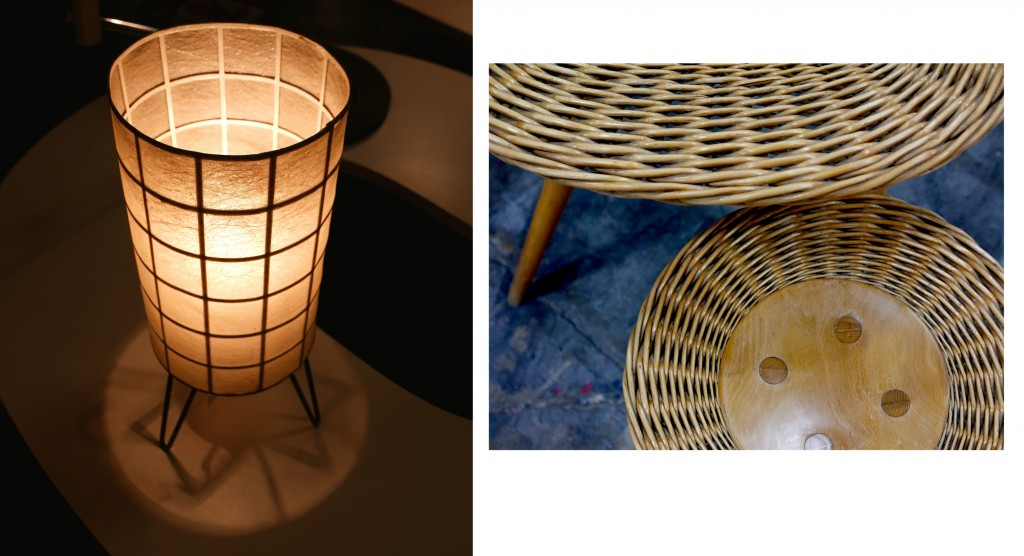 lampe et tables