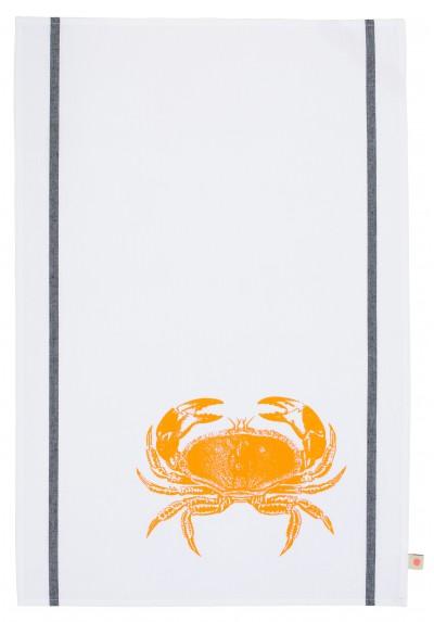 torchon-crabe-fluo-orange-la-cerise-anne-hubert-made-in-Portugal