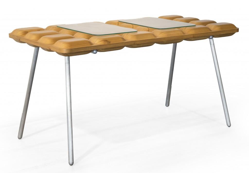 SHIMAMURA table cedre thermoforme 79