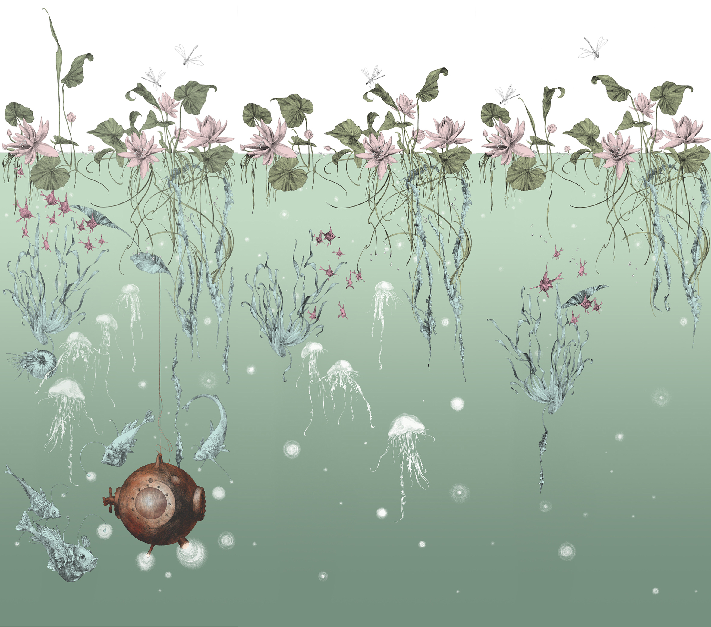 jardin marin x 3