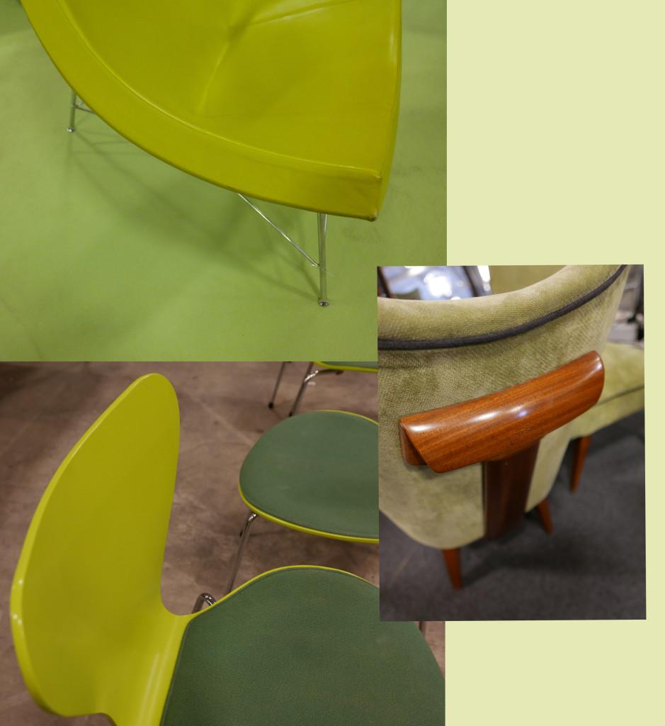 selection vert